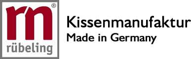 Rübeling Shop Kissenmanufaktur Made in Germany Logo